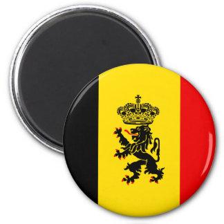 Government Of Belgium, Belgium 2 Inch Round Magnet