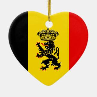 Government Of Belgium, Belgium Ceramic Ornament