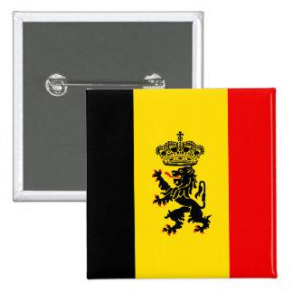 Government Of Belgium, Belgium Pinback Button