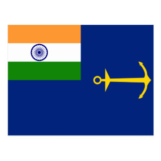 Government Of India, India flag Postcard