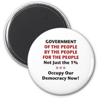 Government Of the People Magnet