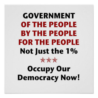 Government Of the People Poster