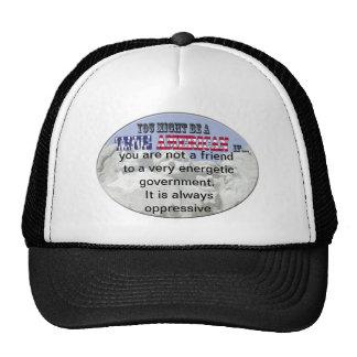 government oppressive trucker hat