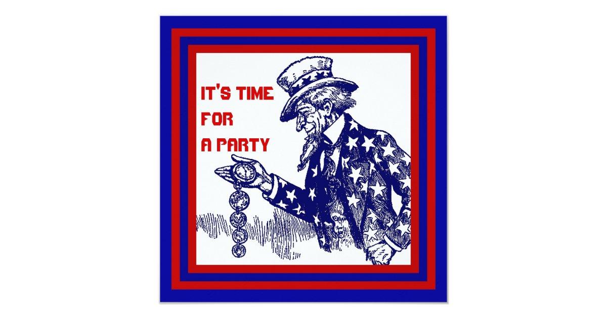 GOVERNMENT OR MILITARY RETIREMENT PARTY INVITATION   Zazzle.com