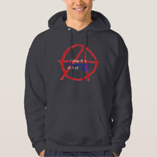 Government out of NY Hooded Pullover