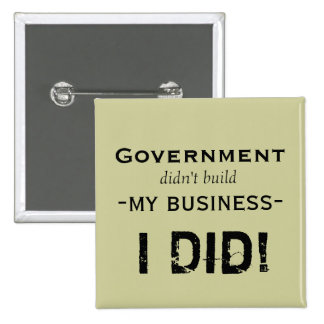 Government... Pinback Button