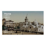 Government place, Algiers, Algeria vintage Photoch Double-Sided Standard Business Cards (Pack Of 100)