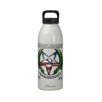 Government Propaganda Reusable Water Bottles