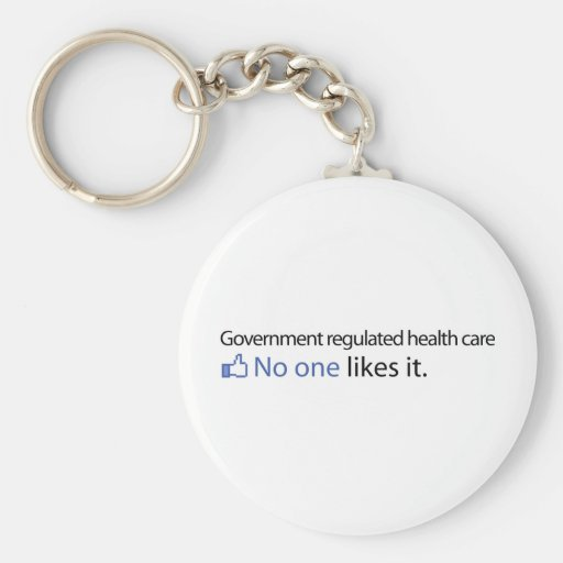 Government Regulated Health Care Keychains