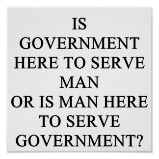 government serves posters