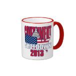 Government Shutdown 2013 Coffee Cup Ringer Coffee Mug