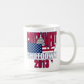 Government Shutdown 2013 Coffee Mug