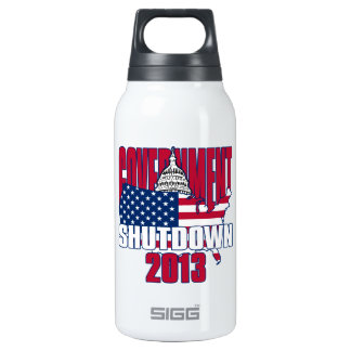 Government Shutdown 2013 SIGG Thermo 0.3L Insulated Bottle