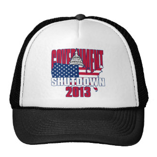 Government Shutdown 2013 Trucker Hat