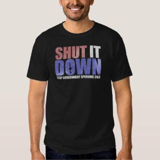 Government Shutdown Tee Shirt