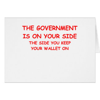 government spending cards