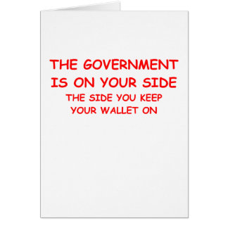 government spending card