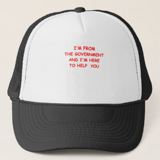 government trucker hat