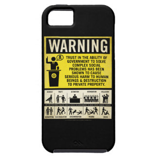 Government Warning Label Case