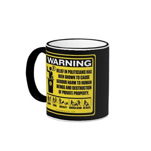 Government Warning Label Mug