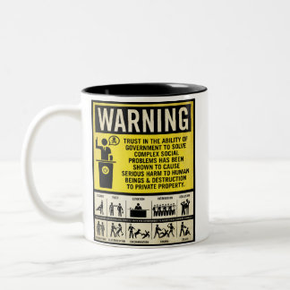 Government Warning Mugs