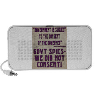 Government We Did Not Consent Speakers