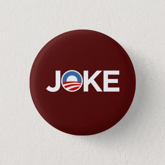 Governments a Joke (Burgundy) Button