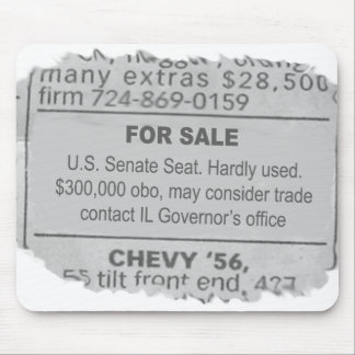 Governor Blagojevich Mouse Pad