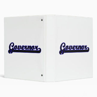 Governor Classic Job Design Vinyl Binder