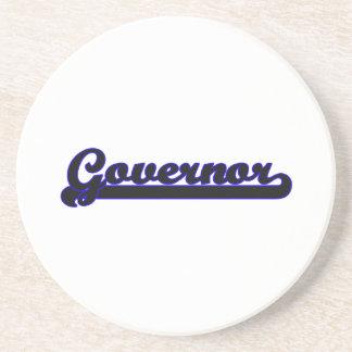 Governor Classic Job Design Drink Coaster