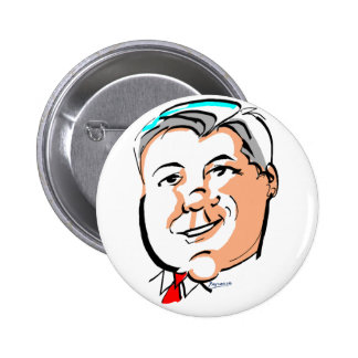 GoVeRnOr HaLeY BaRbOuR 2 Inch Round Button