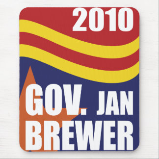 Governor Jan Brewer 2010 Mouse Pad