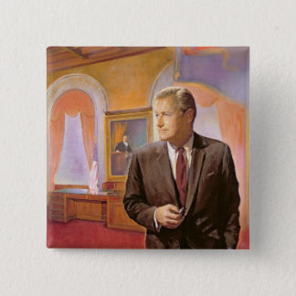 Governor Nelson A. Rockefeller Pinback Button