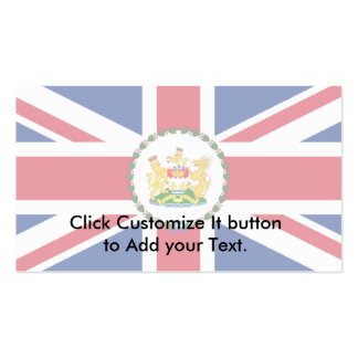 Governor Of Hong Kong, China flag Business Cards