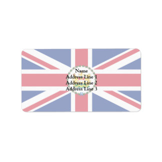 Governor Of Hong Kong, China flag Personalized Address Labels