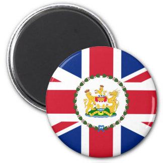Governor Of Hong Kong, China flag Magnet