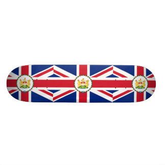 Governor Of Hong Kong, China flag Skate Deck