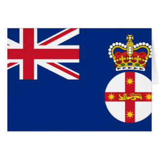 Governor Of New South Wales, Australia flag Greeting Card