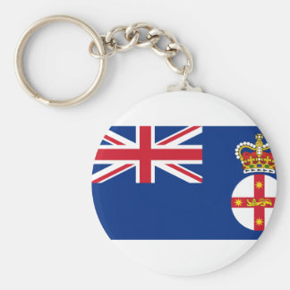 Governor Of New South Wales, Australia flag Key Chain
