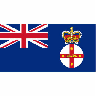 Governor Of New South Wales, Australia flag Photo Cutout