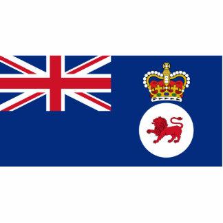 Governor Of Tasmania, Australia flag Photo Cut Outs