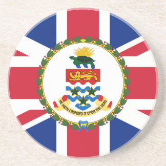 Governor Of The Cayman Islands, United Kingdom Drink Coaster
