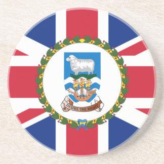 Governor Of The Falkland Islands, United Kingdom Beverage Coaster