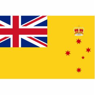 Governor Of Victoria, Australia flag Photo Sculptures