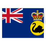 Governor Of Western Australia, Australia flag Cards