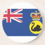 Governor Of Western Australia, Australia flag Beverage Coaster