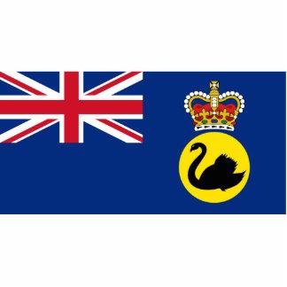 Governor Of Western Australia, Australia flag Cut Out