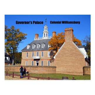 Governor s Palace Colonial Williamsburg Post Cards
