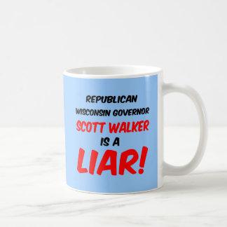 governor scott walker coffee mugs