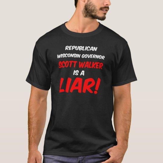 governor scott walker T-Shirt